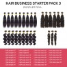 【 EXTRA 20% OFF $799.99 】Start Hair Business For Wholesale Human Hair Weave Package